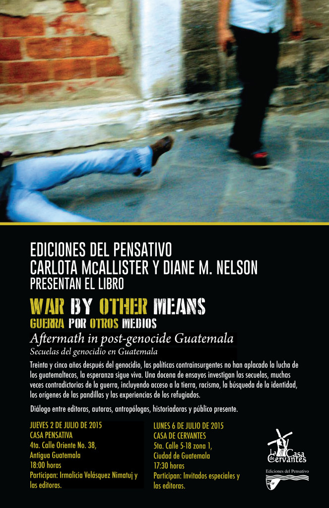Afiche WAR BY OTHER MEANS