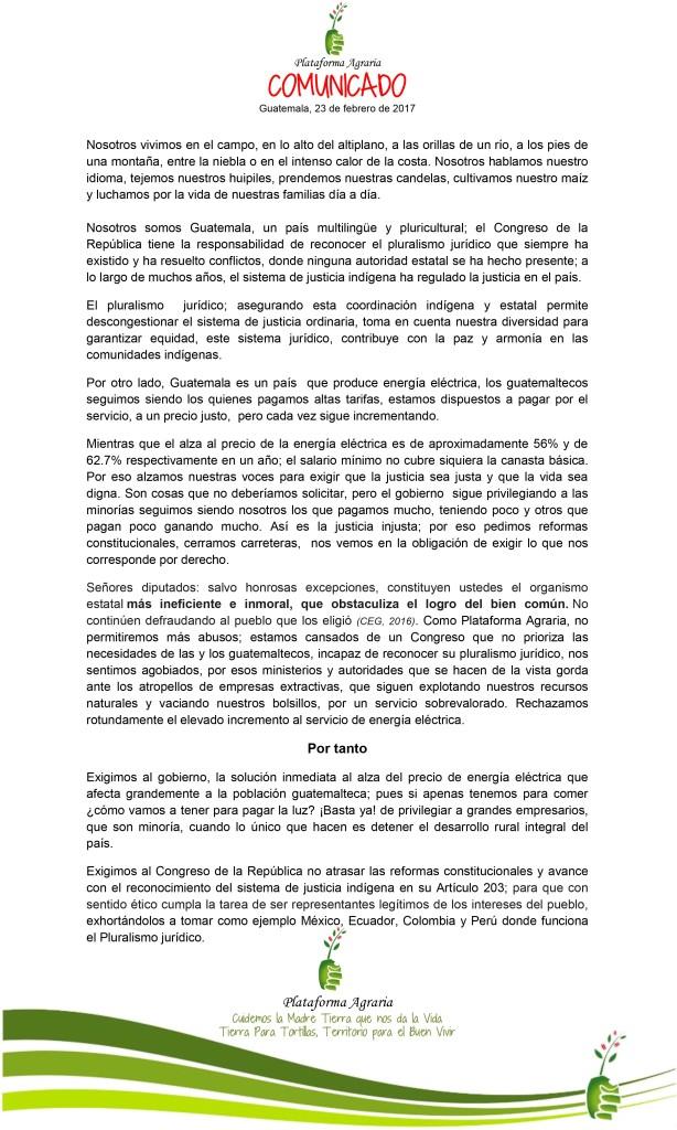 Comunicado PA 23217