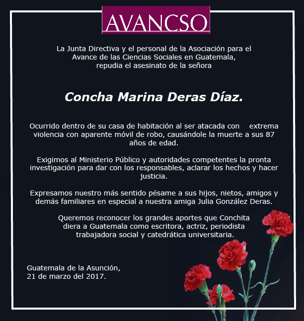 repudio avancso